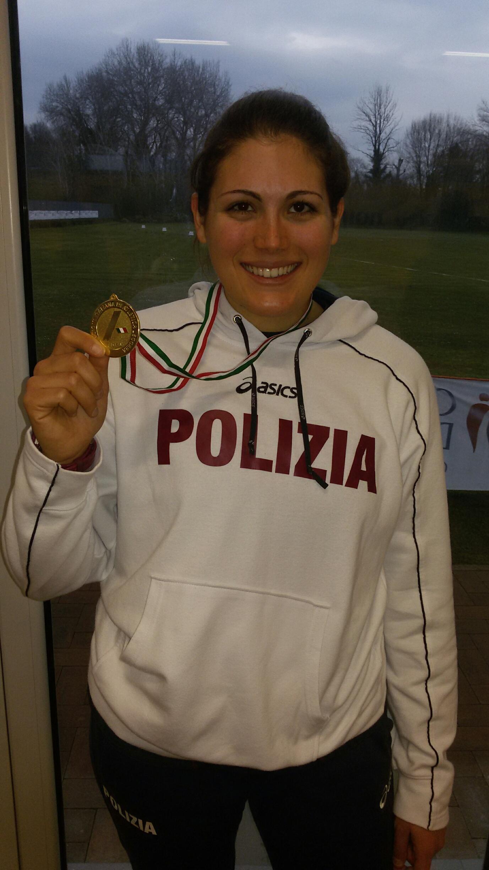 Francesca Massobrio è campionessa italiana nel lancio del martello