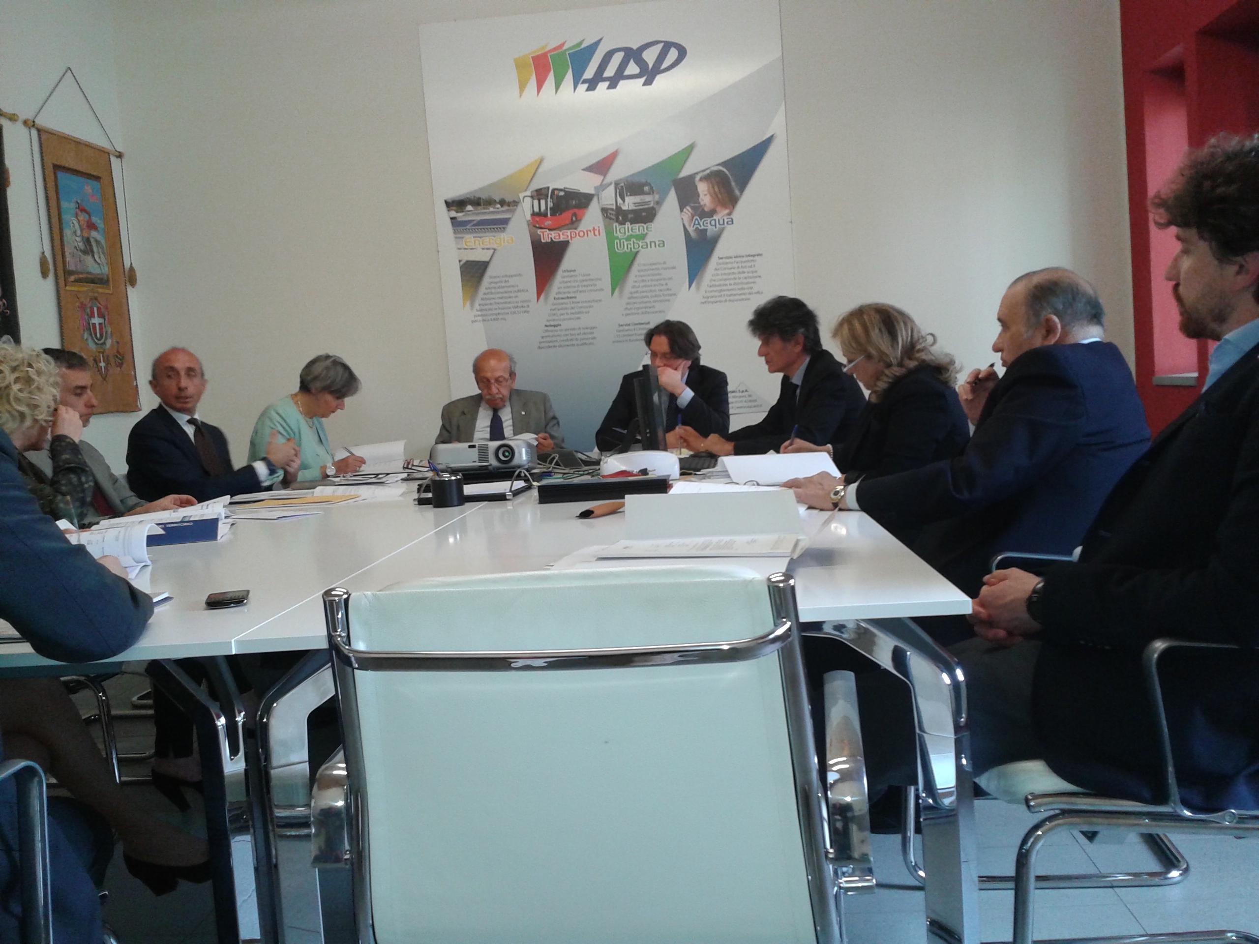 Approvato il bilancio Asp 2014: per il secondo anno utili raddoppiati rispetto al passato. Al Comune di Asti quasi 270.000 euro per la spesa sociale