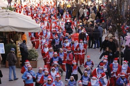 """Domenica la """"Corsa di Natale"""""""