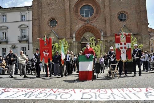 25 aprile: contromanifestazione del Coordinamento Asti Est