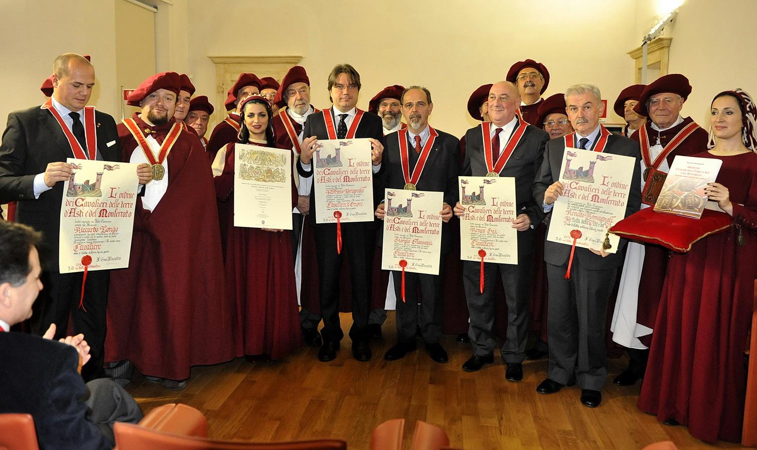 Solenne Capitolo degli Auguri per l'Ordine dei Cavalieri delle Terre di Asti e del Monferrato