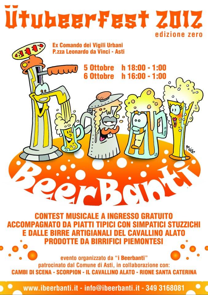 """Ad Asti per l' """"Ütubeer Fest"""""""