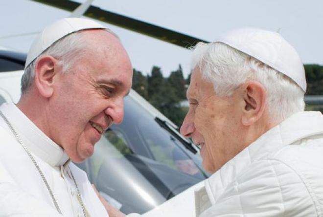 Un anno fa la rinuncia al pontificato da parte di  Benedetto XVI