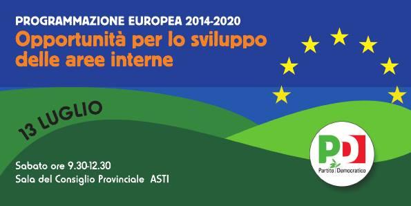 Programmazione europea e opportunità: un incontro ad Asti