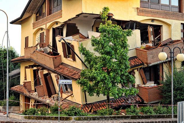 Rovereto sulla Secchia terremoto