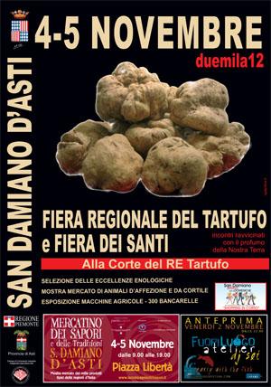 Tartufo e fiera dei Santi a San Damiano