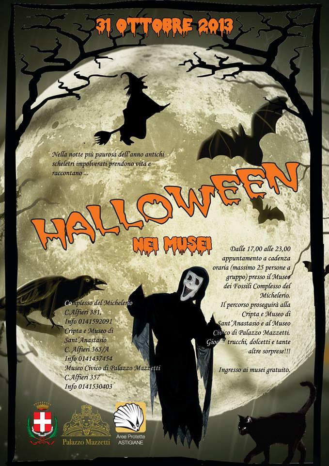 Halloween nei musei ad Asti - gazzetta d'asti