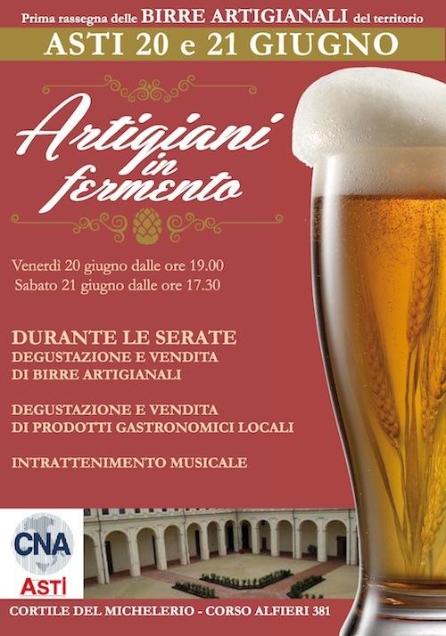 """Birre di qualità e prodotti tipici locali ad """"Artigiani in Fermento"""""""