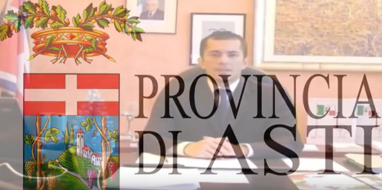 Il video con gli auguri del presidente della provincia di Asti