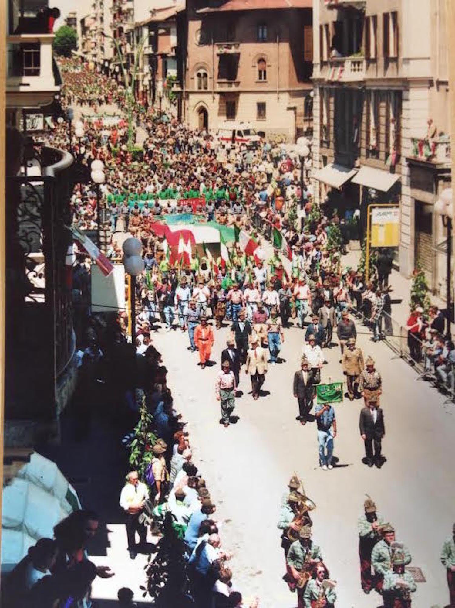 Amarcord dell'Adunata degli Alpini '95
