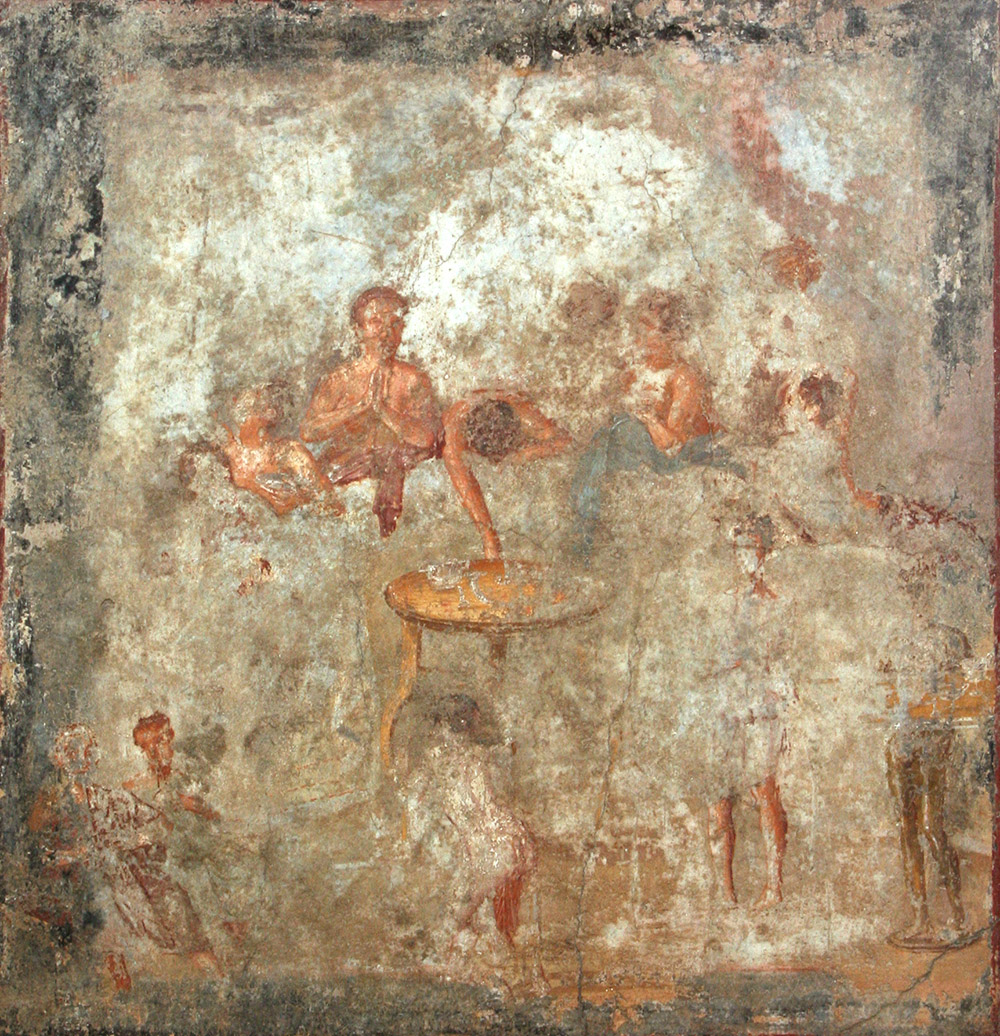 Alle origini del gusto, tra multimedialità ed eventi mostra sul cibo nell'Italia antica
