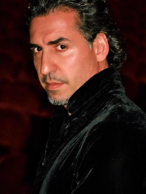 Riconoscimento al baritono Alberto Gazale per la sua partecipazione alla Tosca