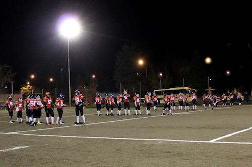 Riparte il campionato per gli Alfieri American Football Team