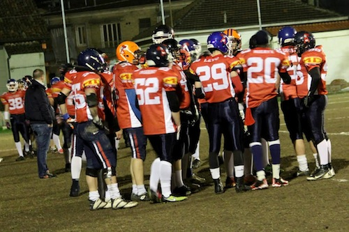 Tornano in campo gli Alfieri dell'Asti American Football Team
