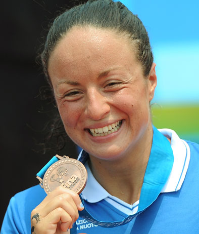 Nuoto: Alice Franco riceve Medaglia d'argento al Valore Atletico