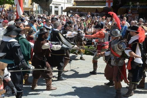 Un viaggio nel 1600 con l'Assedio di Canelli