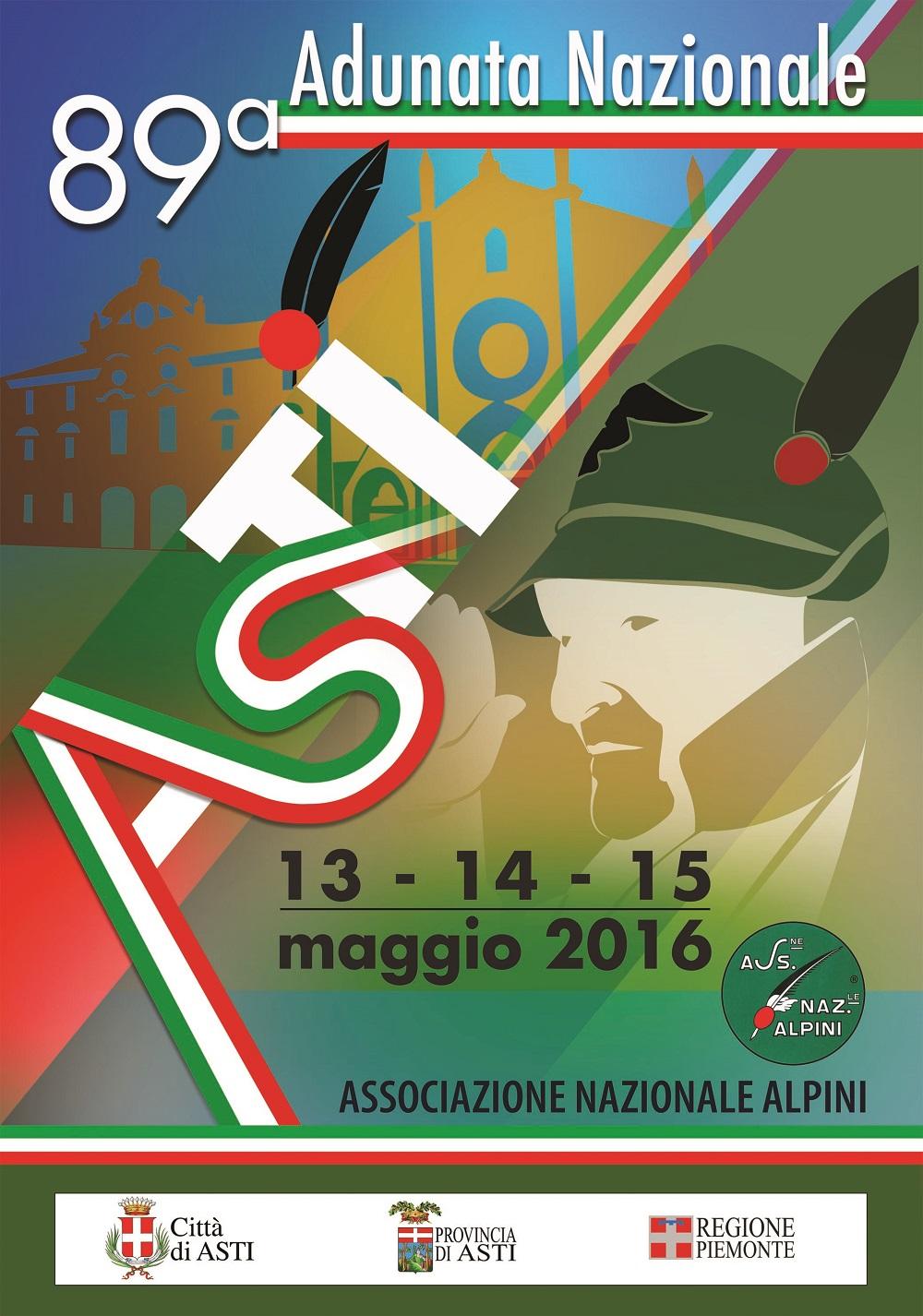 Alpini, al lavoro per l'Adunata nazionale 2016 ad Asti: ecco il manifesto e la medaglia ufficiali