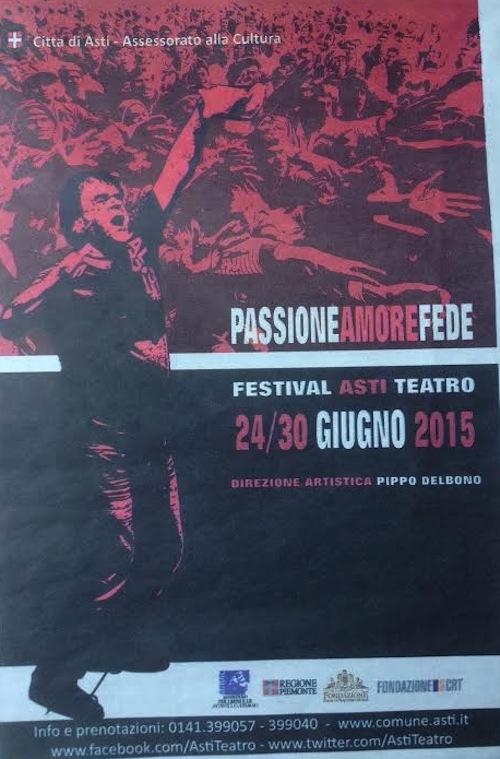Asti Teatro 37: gli appuntamenti di venerdì 26 giugno