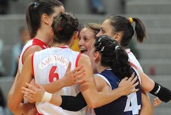 Volley, le ragazze del coach rondinelli tornano a sorridere