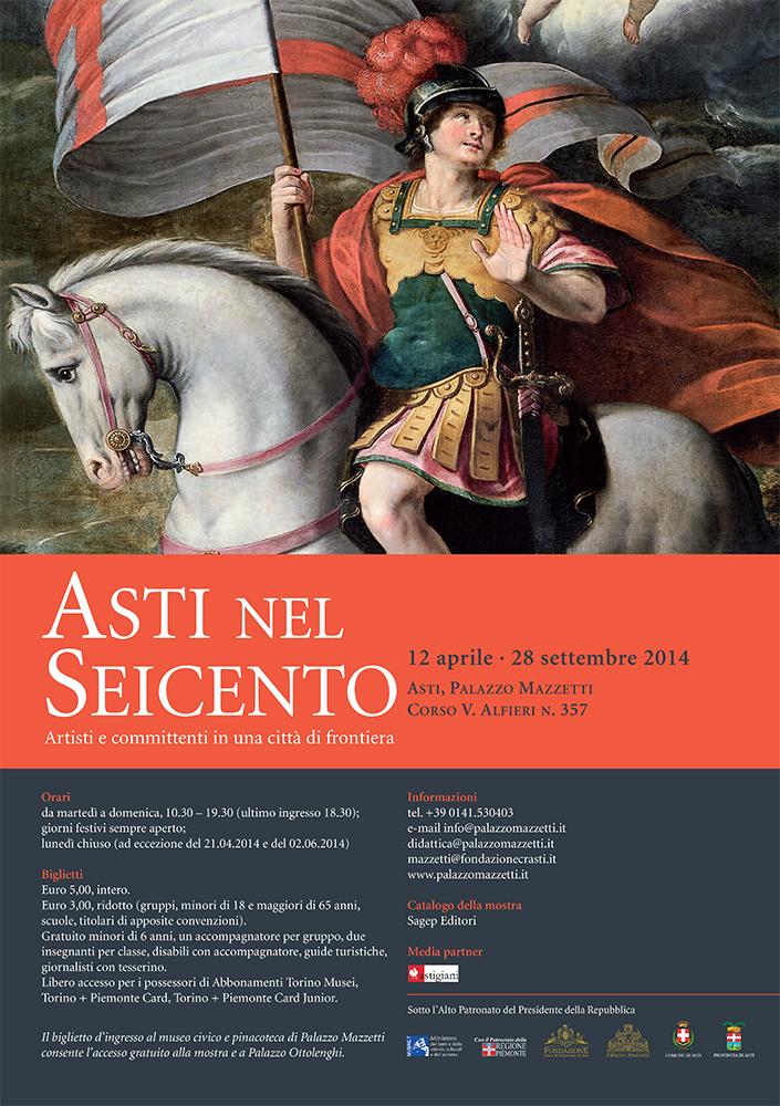"""""""Asti nel Seicento. Artisti e committenti in una città di frontiera"""" a Palazzo Mazzetti"""