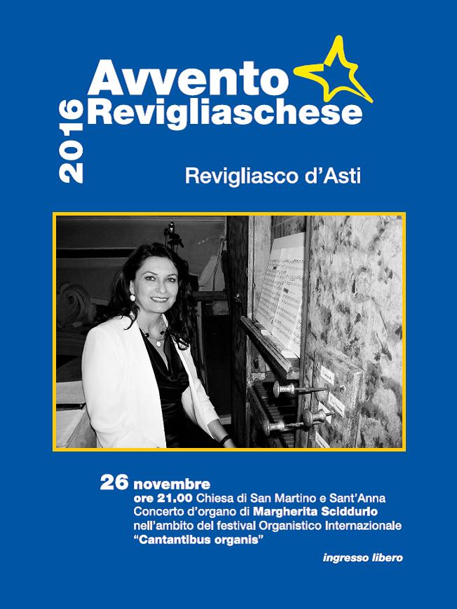 Avvento Revigliaschese: concerto d'organo