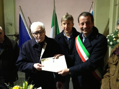 Lorenzo Barberis spegne 100 candeline