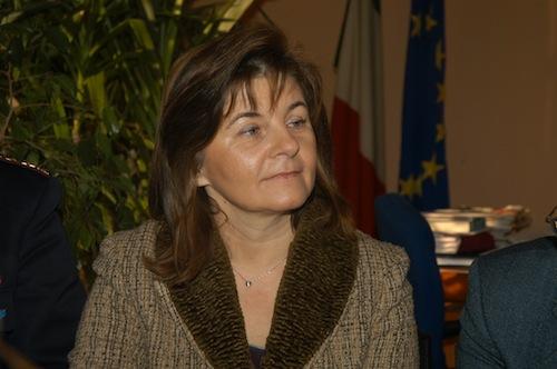 Donatella Boscassi alla questura di Cuneo