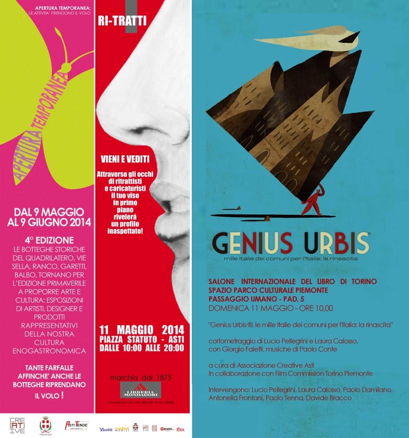 Gli appuntamenti di maggio con le Creative