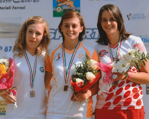Ennnesima medaglia di Francesca Bajno nei campionati italiani assoluti targa