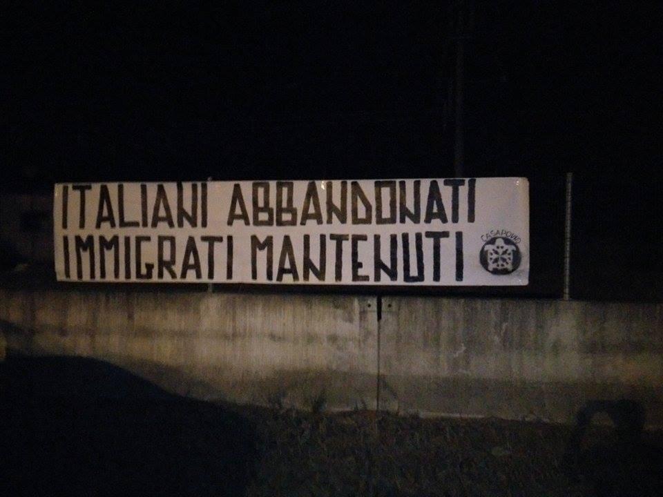 Castello di Annone, CasaPound: no al centro profughi presso la ex caserma