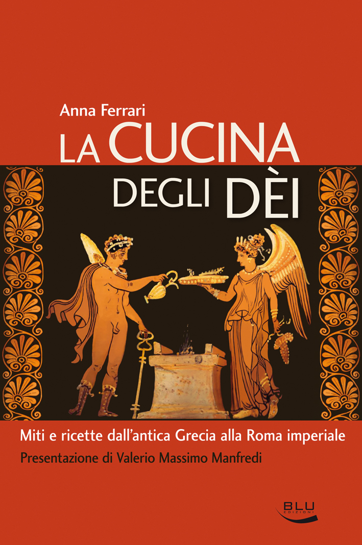 """A Palazzo Mazzetti si presenta il libro """"La cucina deglie Dèi"""" di Anna Ferrari"""