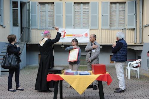 Inaugurato il nuovo market solidale della Caritas