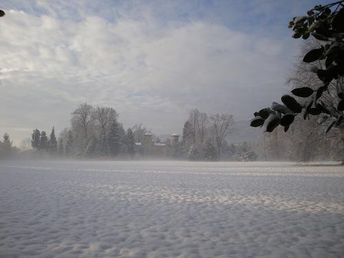 Prima neve sull'Astiagiano