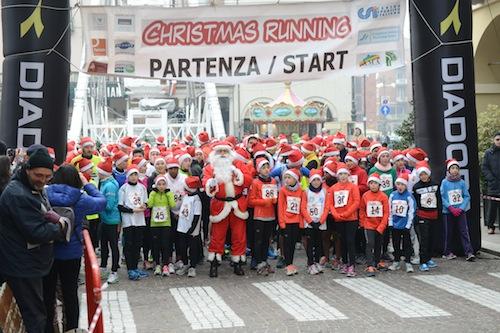 Immagini e volti dalla Christmas Running