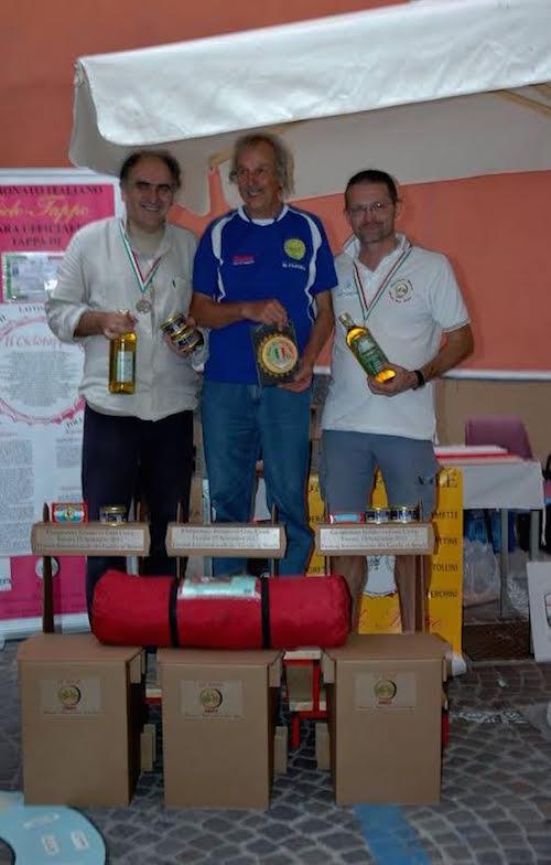 Astigiano argento al campionato italiano di ciclotappo