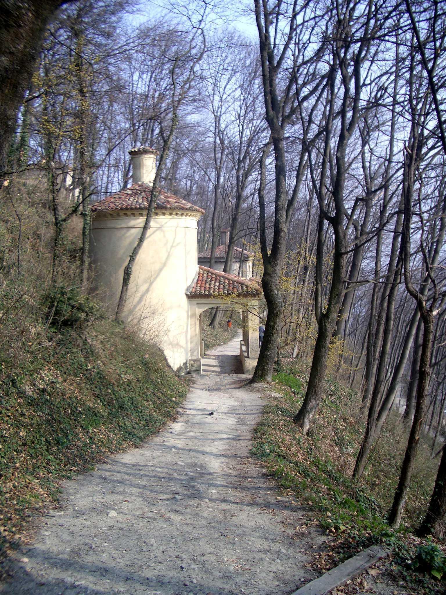 Camminata verso il Santuario di Crea
