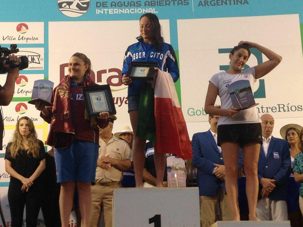 Grand Prix Fina: Alice Franco domina la 25 km sul Rio Paranà