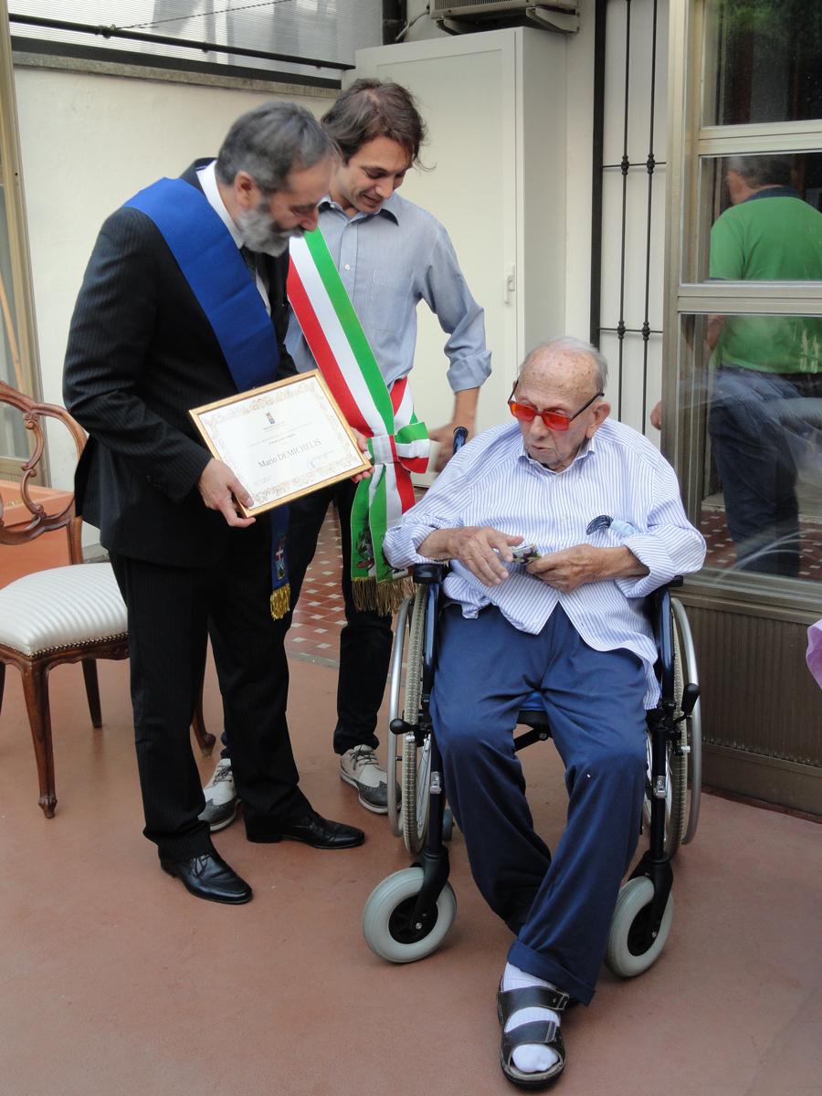 Festeggiato a Nizza Monferrato il nuovo patriarca Mario Demichelis