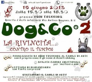 """""""Dog & Co2"""": nuovo appuntamento in favore del canile di Asti"""