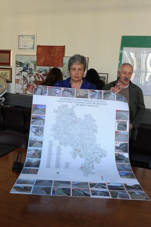 Frane nell'Astigiano: la Provincia chiede lo stato di calamità naturale