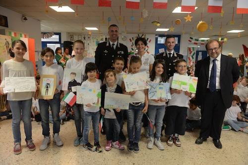 Studenti della Salvo D'Acquisto premiati dai carabinieri
