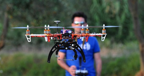 A Castello di Annone un corso per divenare pilota di drone