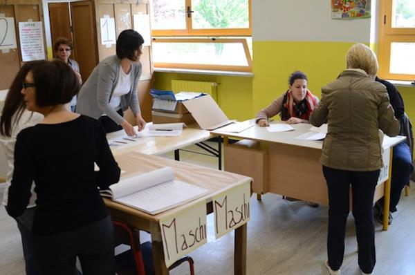 Elezioni comunali: alle 22 hanno votato il 52.09% degli aventi diritto