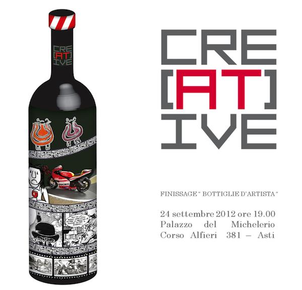 Finissage di Bottiglie d'Artista