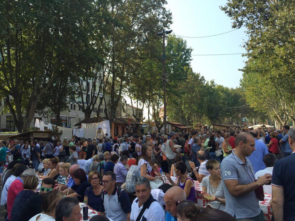 Domenica fra piatti e tradizione con il Festival delle Sagre: la fotogallery
