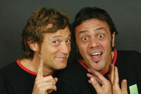 spettacolo di cabaret con Marco e Mauro