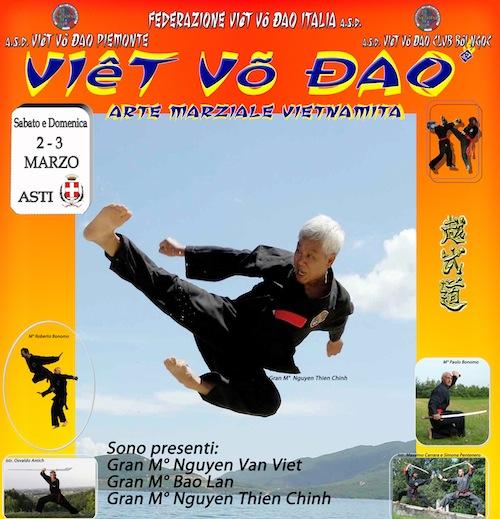 Ad Asti le gare nazionali di Viet Vo Dao