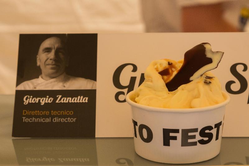 Sorbetto di Don Bosco e il Gelato del Papa al Gelato Festival di Torino