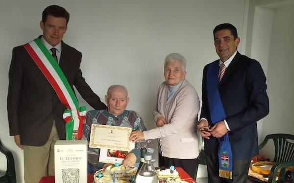 Nuovo centenario nell'Astigiano