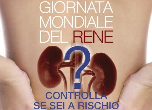 Il 13 marzo è la giornata mondiale del rene